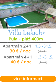 Villa Luka - Vinkuran - Pula