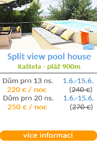 Split view dům s bazénem - Kaštela