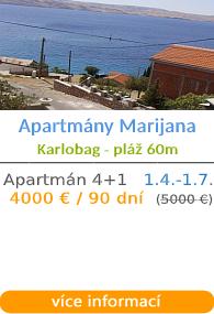 Apartmány Marijana - Barbariga