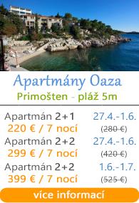 Apartmány Oaza Primoaten