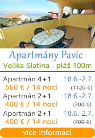 Apartmány Pavic Slatina Trogir