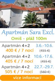 Apartmán Sara exclusive