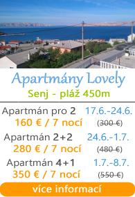 Apartmány Lovely Senj