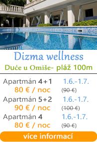 Dizma Wellness apartmány Omia