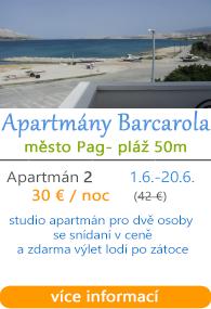 Apartmány Barcarola Pag