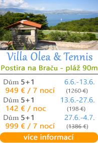Villa Olea & Tennis - Postira na Braču
