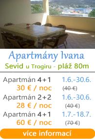 Apartmány Ivana - Sevid u Trogiru