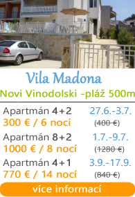 Vila Madona - Novi Vinodolski