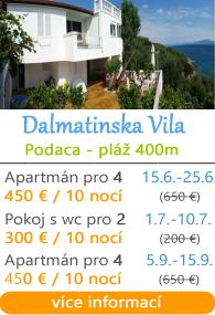 Dalmatinska Vila - Podaca