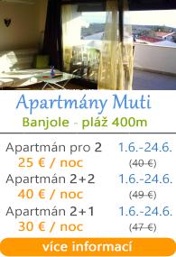 Apartmány Muti - Banjole u Medulinu