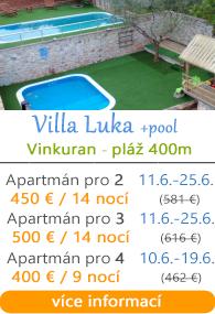 Villa Luka Vinkuran u Puly