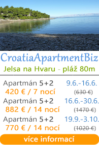 CroatiaApartmentBiz Jelsa Hvar