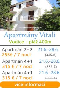 Apartmány Vitali - Vodice