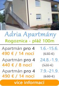 Adria Apartmány - Rogoznica