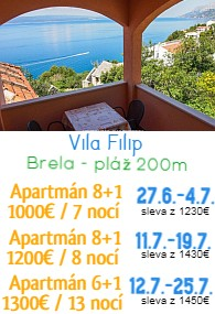 vila Filip Brela