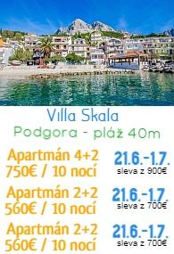 Villa Skala Podgora
