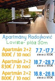 Apartmány Radojkovič Lovište Pelješac