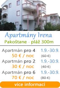 Apartmány Irena Pakoštane