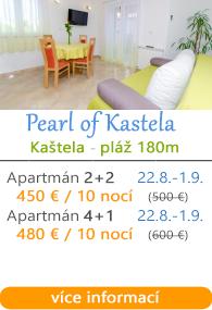 Apartmány Pearl Kastela