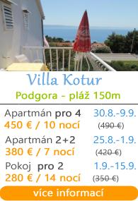 Villa Kotur Podgora