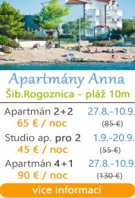 Apartmány Anna Rogoznica