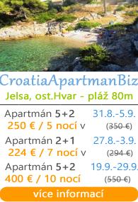 Apartman Biz Jesla ostrov Hvar