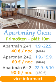 Apartmány Oaza - Primoaten