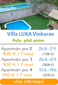 Villa LUKA Vinkuran - Pula