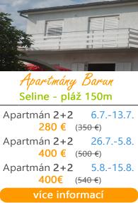 Apartmány Barun Seline