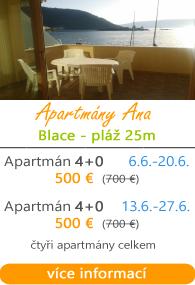 Apartmány Ana Blace