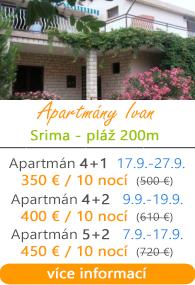 Apartmány Ivan Srima