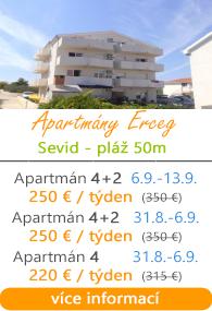Apartmány Erceg Sevid